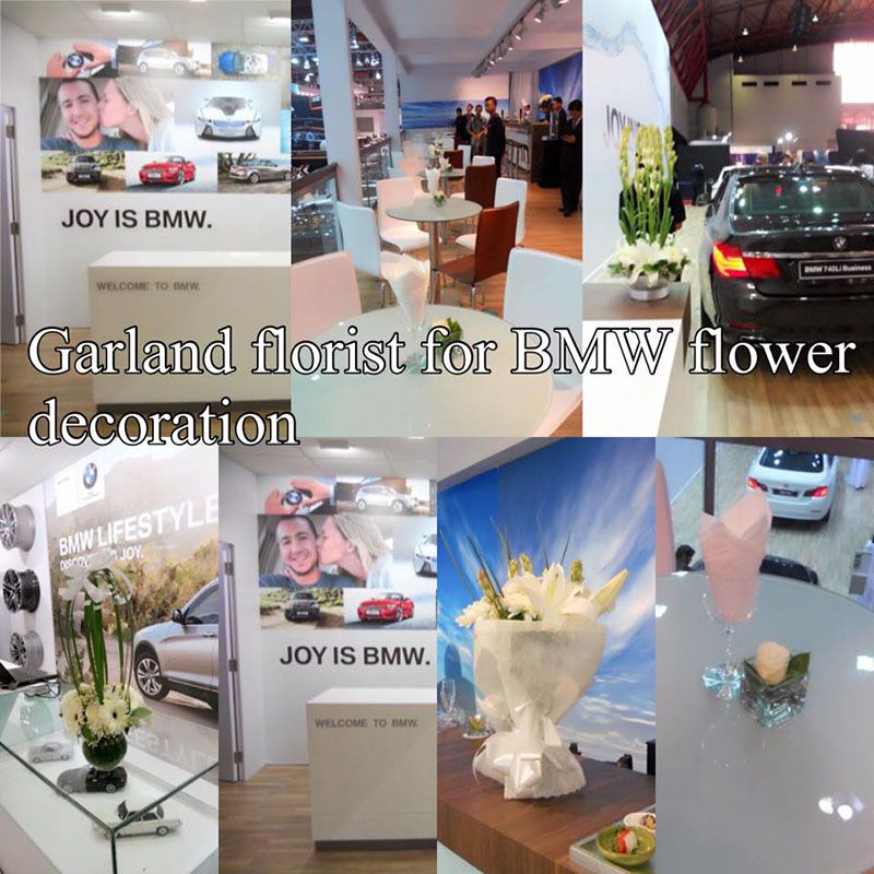 BMW Flower Decoration